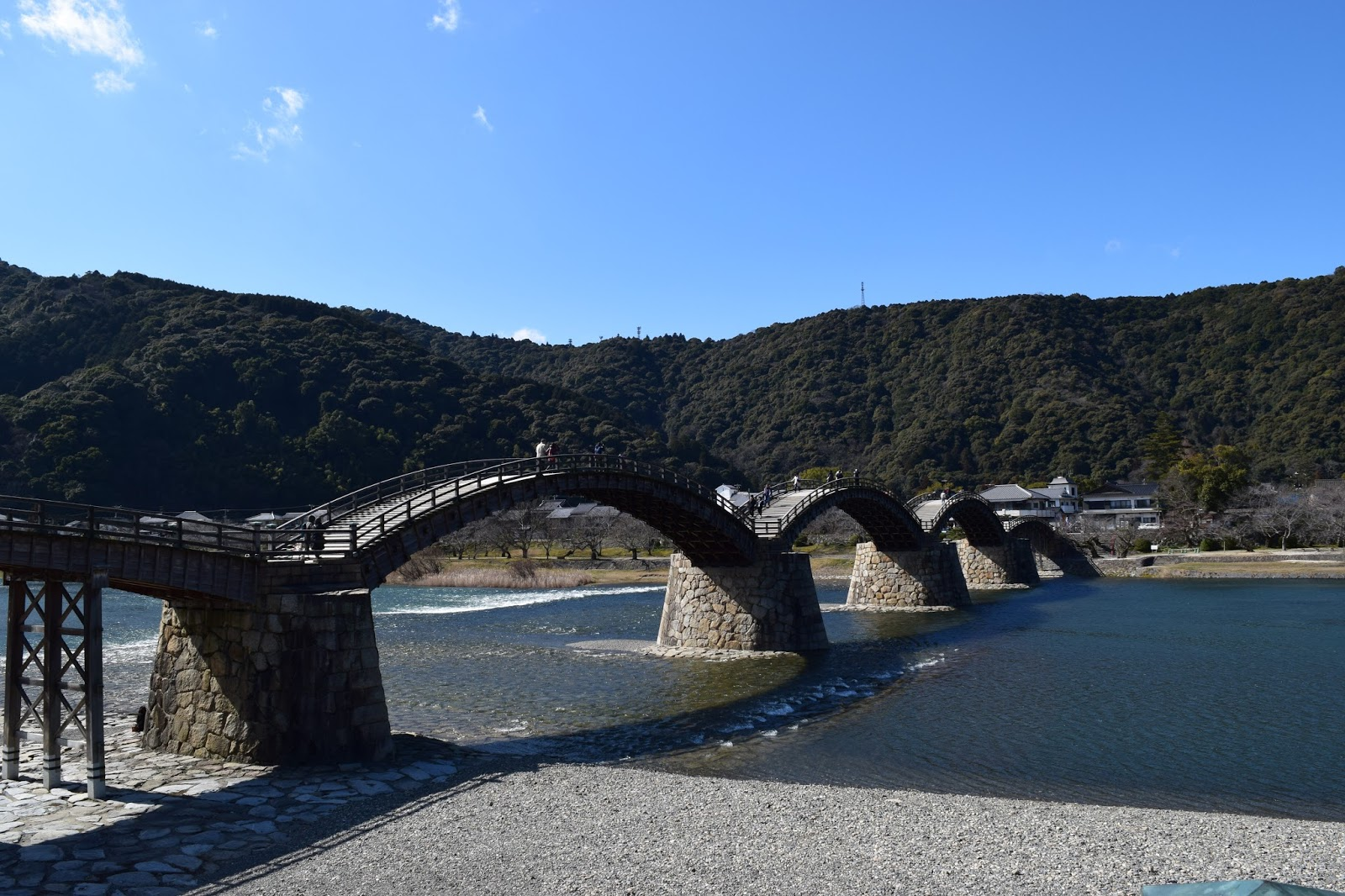 Kintaikyo bridge Iwakuni