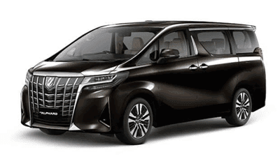 All New Alphard 2018 Black