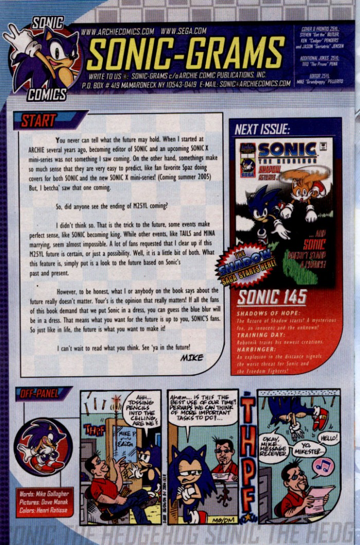 Read online Sonic The Hedgehog comic -  Issue #144 - 26
