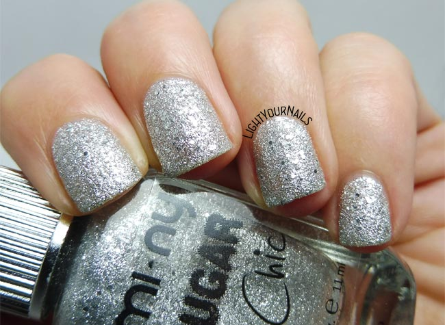 Mi-Ny Sugar Chic 11 Silver Glaze smalto nail polish