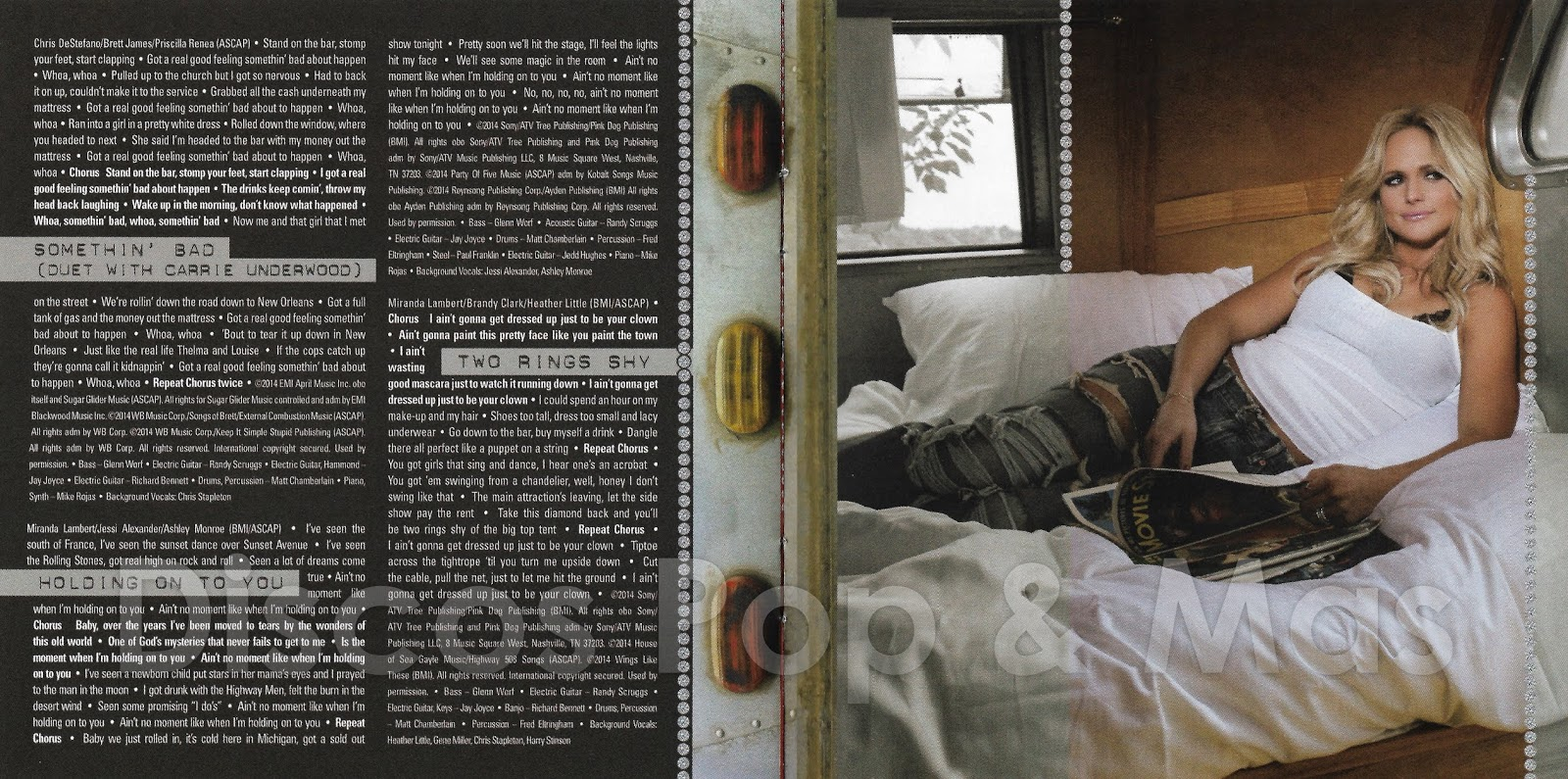 Discos Pop & Mas: Miranda Lambert - Platinum