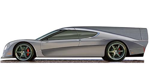 www.Tinuku.com GT-EV Green4U all-electric road-racing car by Panoz