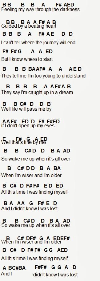 Flute Sheet Music Sorry