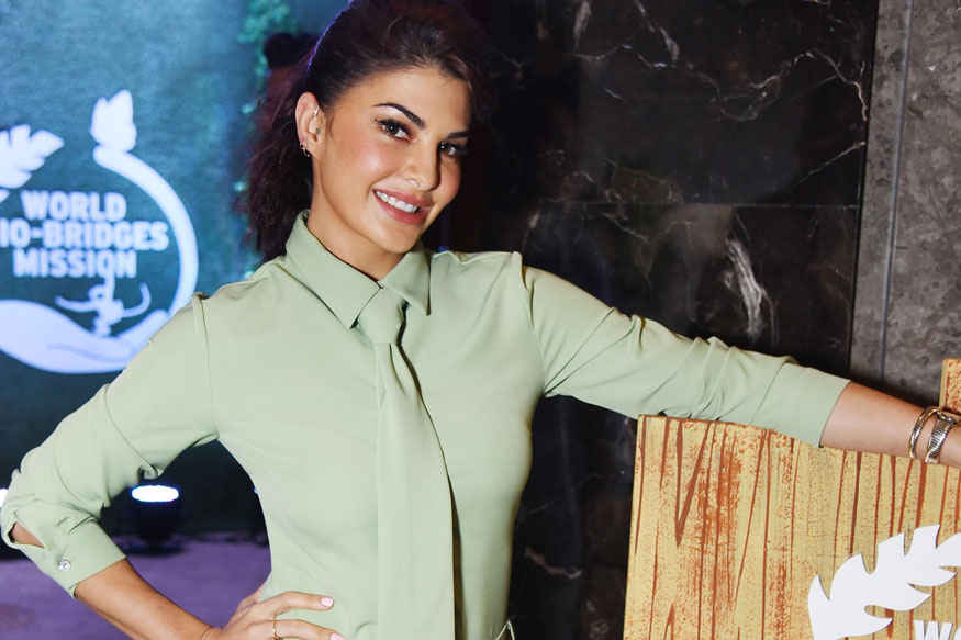 Jacqueline Fernandez During 'The Body Shop' Launch In Delhi