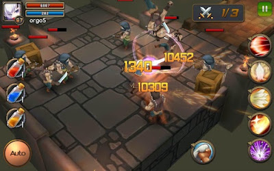 Download Darklord Tales v1.0.0.29 MOD Apk (Massive Damage & More) Screenshot 2