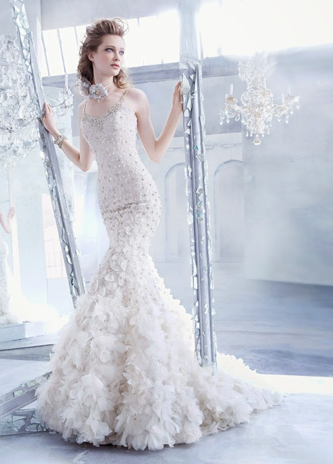 Lazaro Fall 2014 Bridal Collection - Belle The Magazine