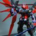 """Custom Build: 1/100 MBF-P0X Gundam Astray Noir D """"EMPEROR"""""""