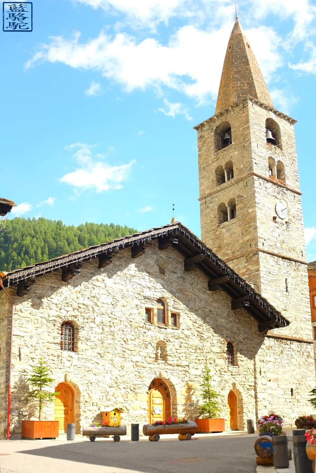 Le Chameau Bleu - Blog Voyage Val d'Isère - Eglise  de Val d'isere