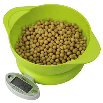 Кухонные электронные весы с контейнером