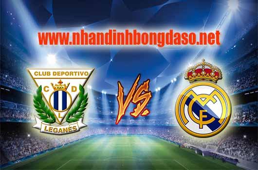 Nhận định bóng đá Leganes vs Real Madrid, 02h30 ngày 06/04