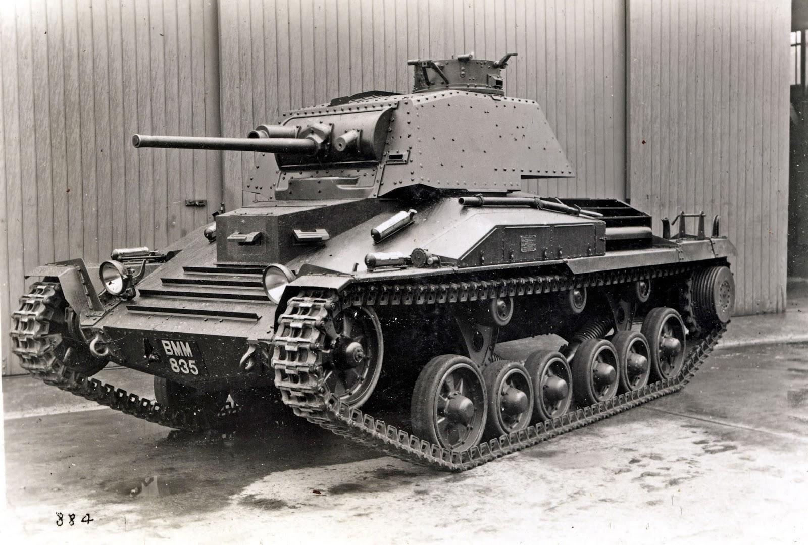 Interwar Tank Development
