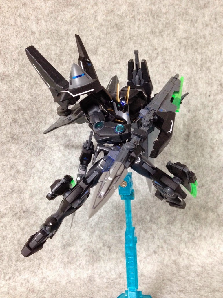 Hg 1 144 00 Gundam Seven Sword G Uranus Custom Build Gundam Kits Collection News And Reviews