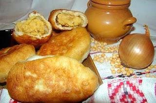 пирожки с гороховой начинкой