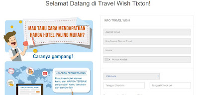 Travel Wish Tixton