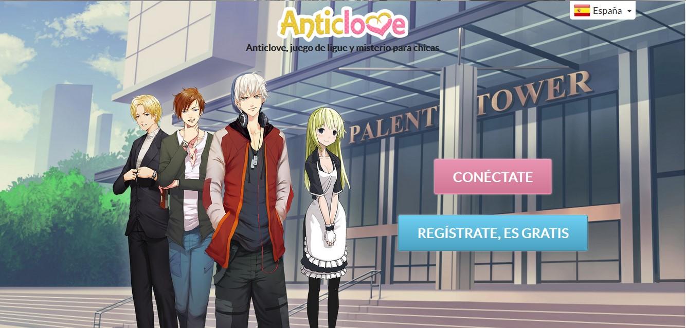 Otaku Disaster Juegos Otome Online Anticlove