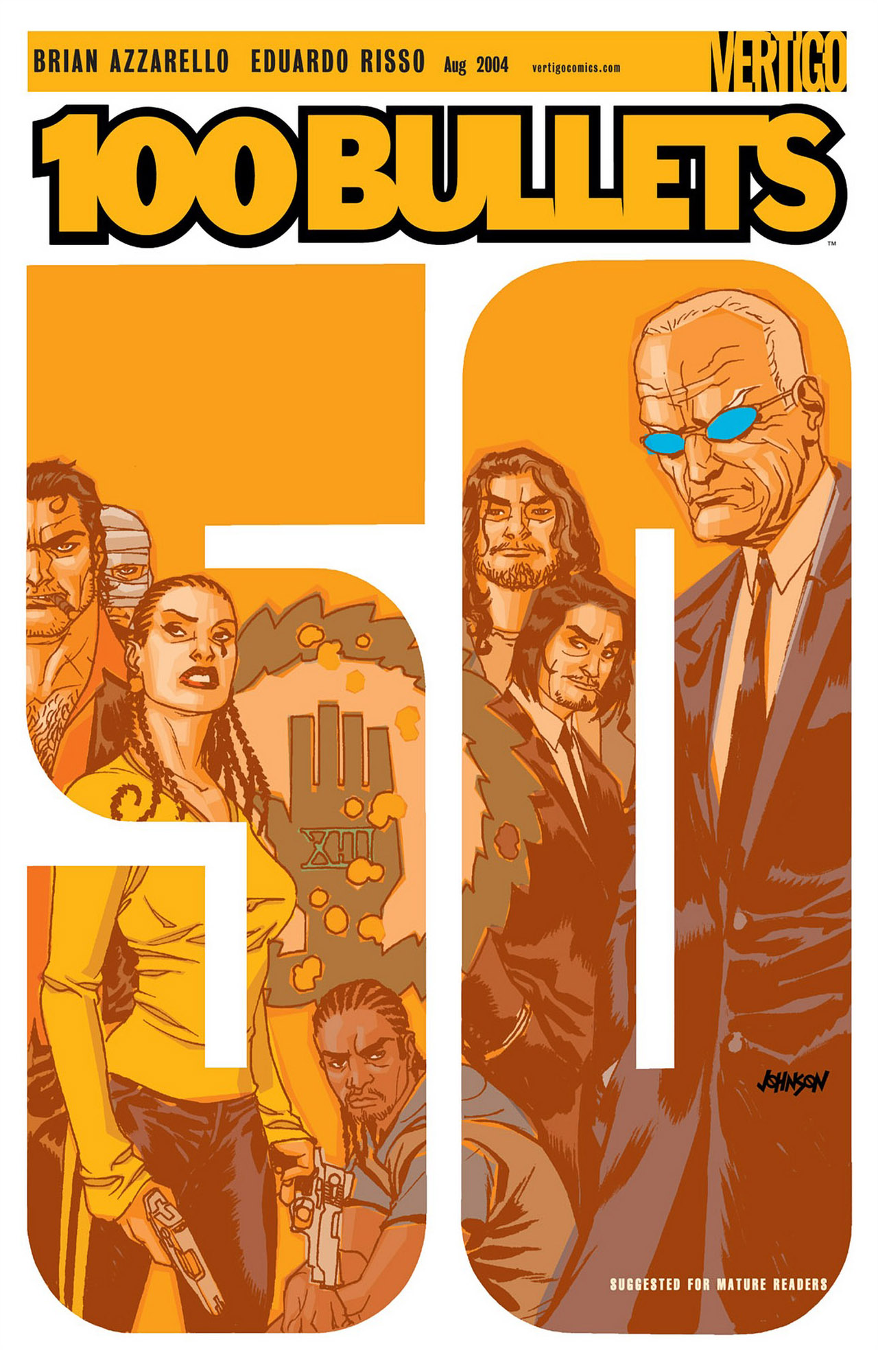 Read online 100 Bullets comic -  Issue #50 - 1