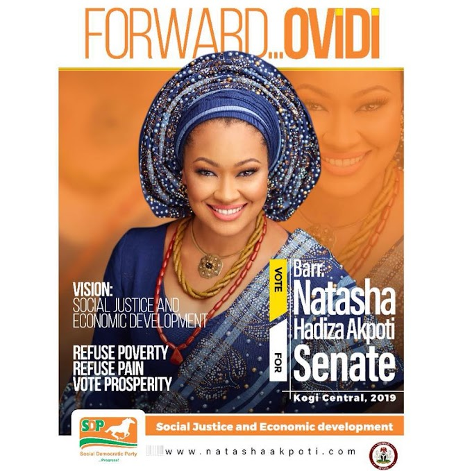 Video and Photos Of Natasha Akpoti's Campaign in Ebiraland.