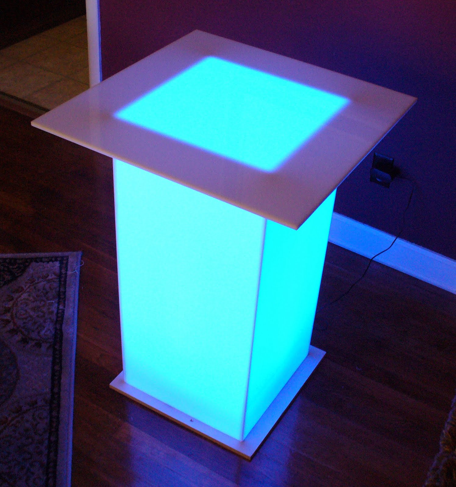 BarChefs: LED Light Up Tables for Events
