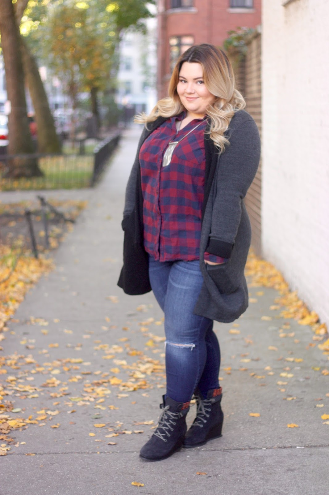 MAKE A SCENE TOUR, Caterpillar footwear, Cat footwear, soho house chicago, natalie craig, chicago blogger, fashion blogger, midwest blogger, influencer, fall boots, ankle boots, how to wear plaid, wedge ankle boots