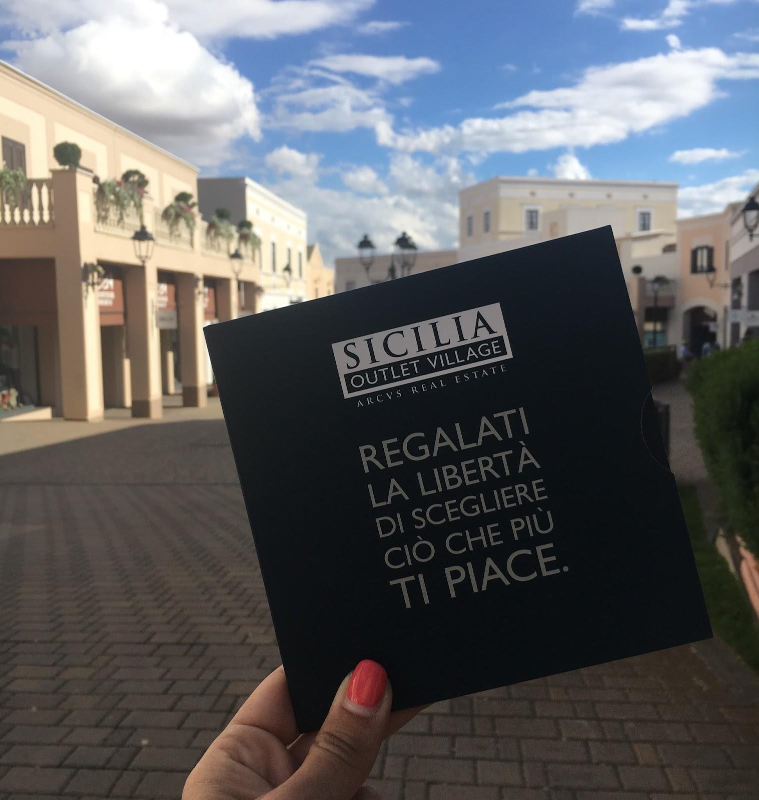 STYLEGRAM: SICILIA OUTLET VILLAGE: IL PIACERE DI FARE SHOPPING ...
