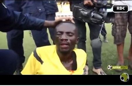 Oh No! Watch How Angry Football Fans Pursued and Beat Up a Referee (Photo+Video)