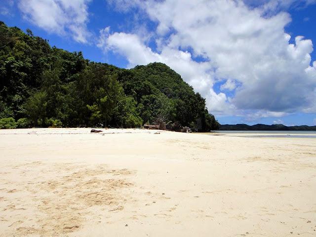 Las Islas Rocosas de Palau