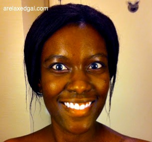 See how being on a healthy hair journey has changed my view of getting my relaxed hair wet. | arelaxedgal.com