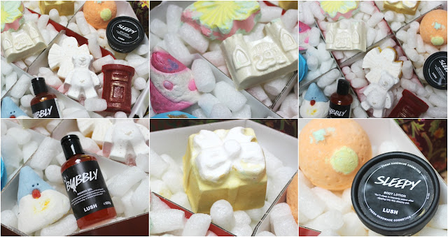 Lush 12 Days of Christmas Gift Set Review