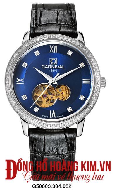 Nên mua đồng hồ Carnival dây da hay kim loại
