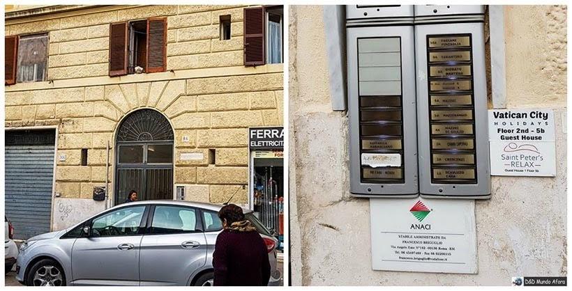 Fachada Hotel St Peter - Diário de Bordo: 3 dias em Roma
