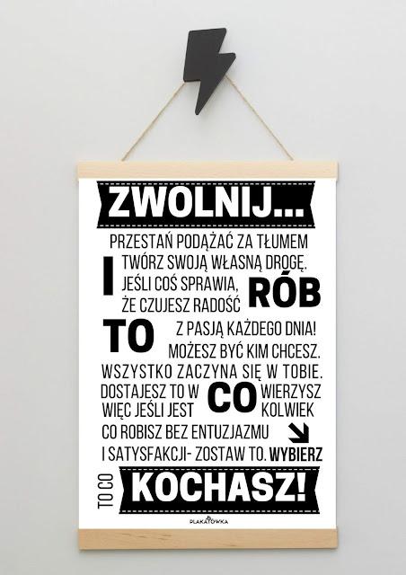 plakaty motywacyjne do druku