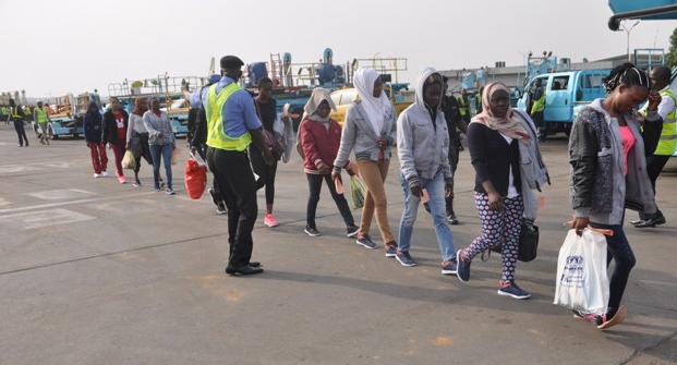 149 Nigerians Stranded In Libya arrive lagos