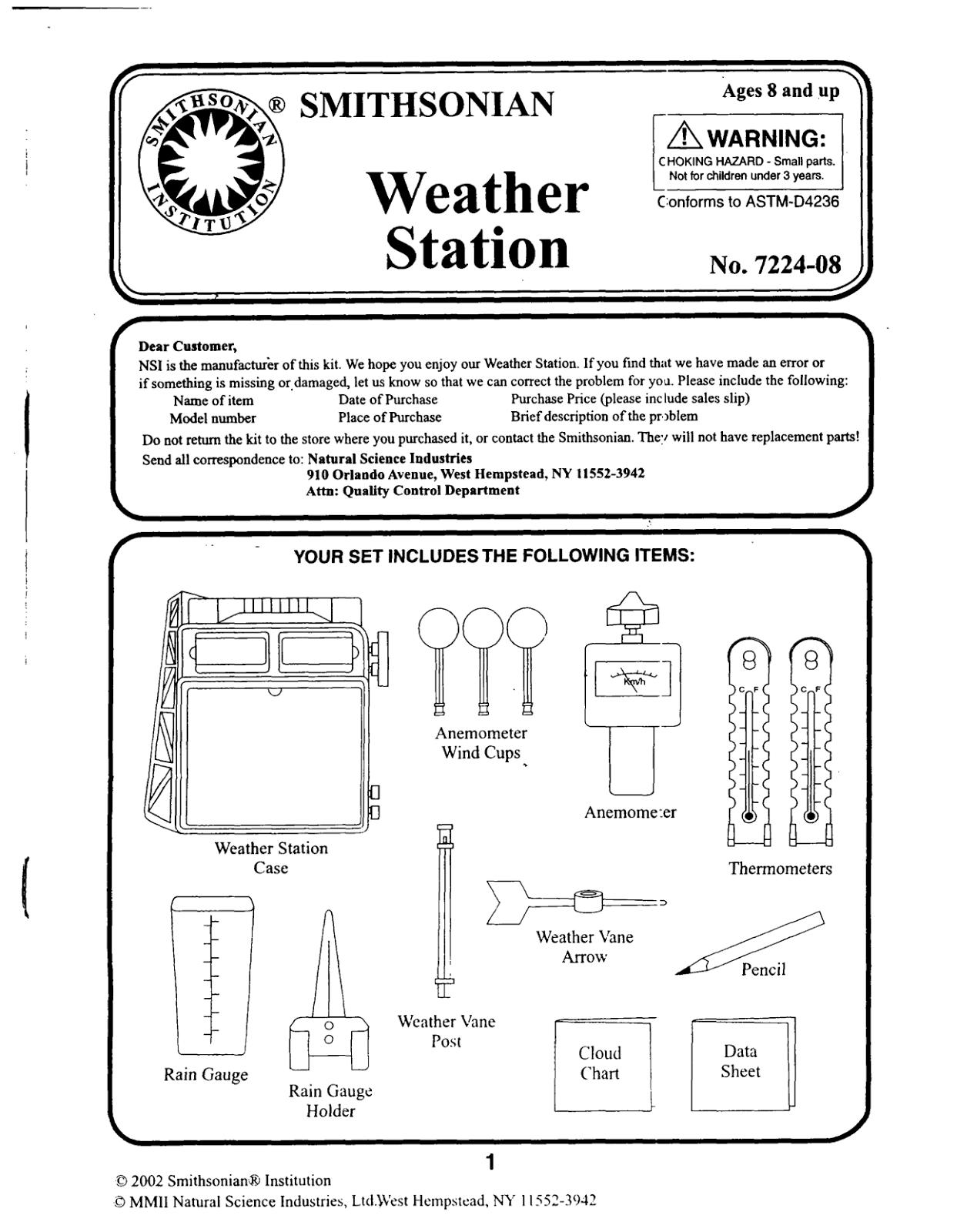 Weather Worksheet Looming Troubles