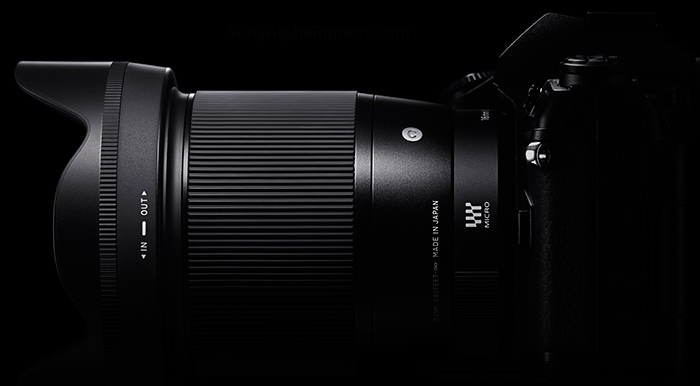 Объектив Sigma для беззеркальной камеры