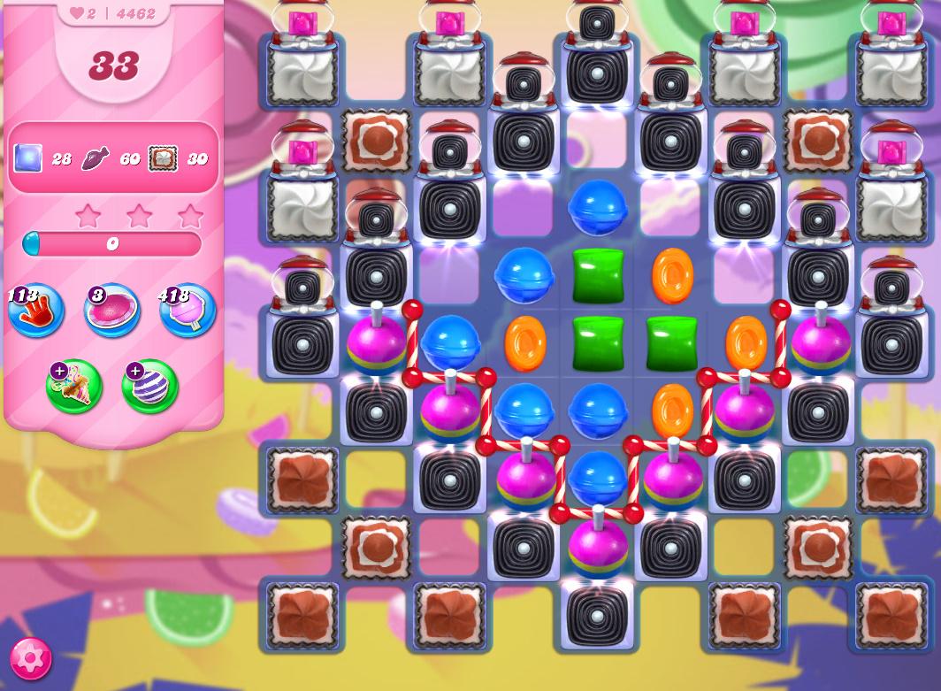 Candy Crush Saga level 4462
