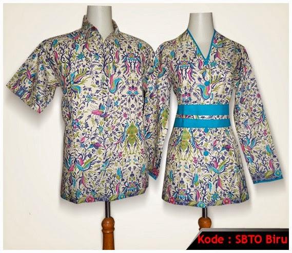 Model Baju Batik Lengan Panjang Modern: Model Baju Batik Wanita Lengan Panjang