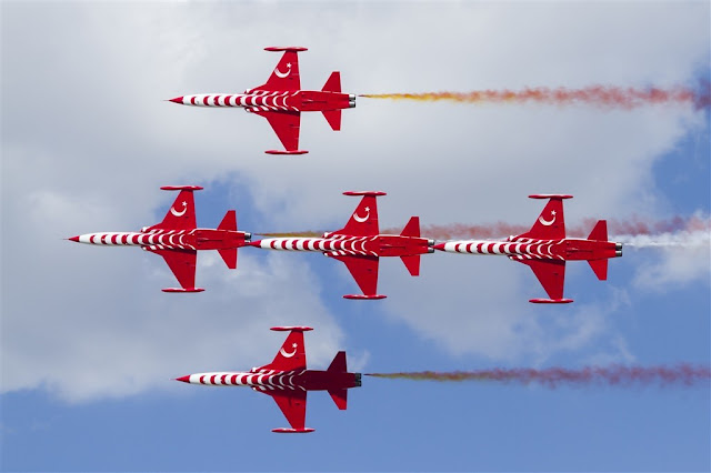 Turkish Stars airshow schedule 2018