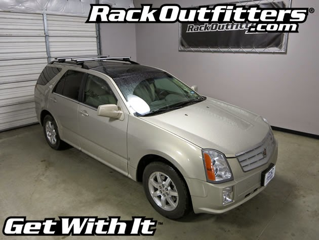 Cadillac Srx Thule Rapid Crossroad Silver Aeroblade Base Roof Rack 04 09 Rack Outfitters