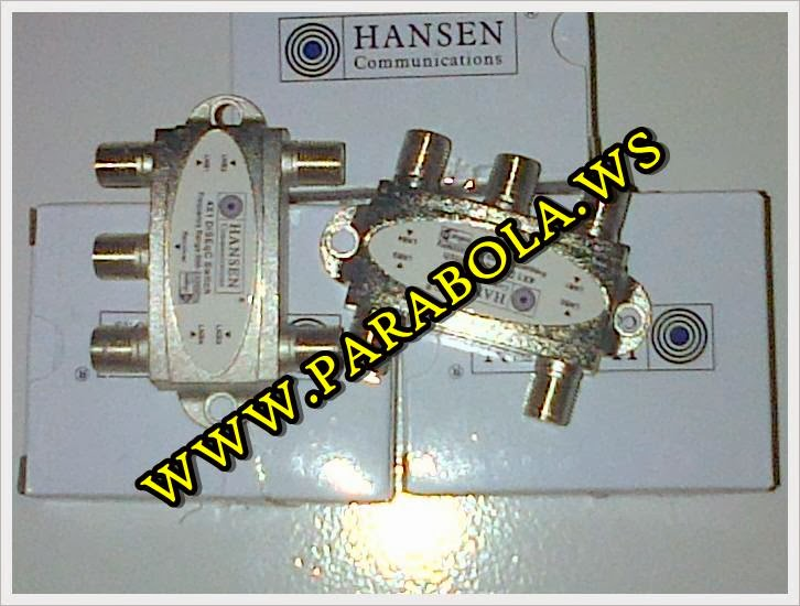 DiSEqC switch Hansen 4x1