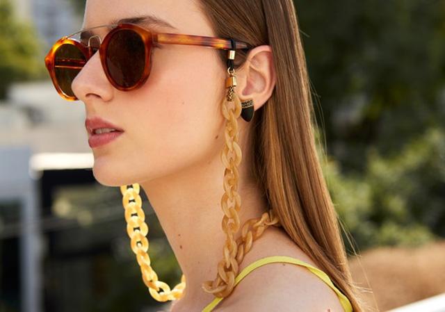 corrente para óculos, tendência para óculos de sol, acessórios para óculos de sol, blog de dicas de moda, blog de moda , blogueira de moda, o melhor blog de moda