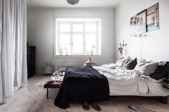 A Light and Bright Scandinavian Apartment- design addict mom
