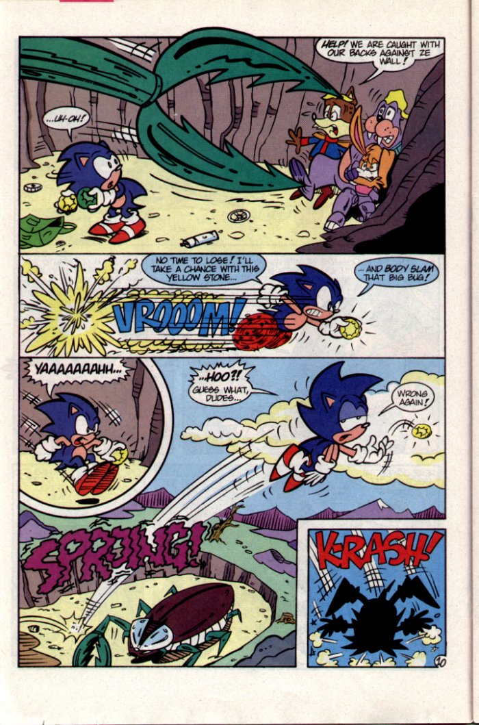 Read online Sonic The Hedgehog comic -  Issue #15 - 11