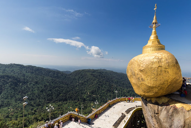 Golden Rock, Myanmar