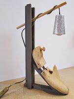 Lampe embauchoir récup'