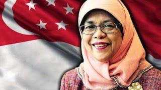 Halimah Yacob, Presiden Wanita Pertama Singapura