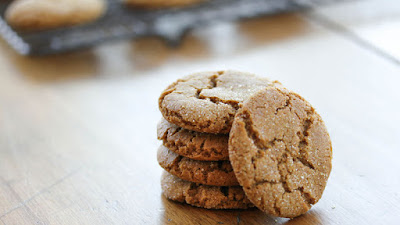 Moroccan Spiced Gingersnaps