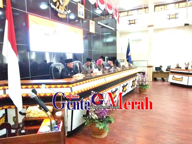 LKPJ Walikota Metro, Fraksi DPRD Soroti Berbagai Permasalahan Pembangunan dan Retribusi