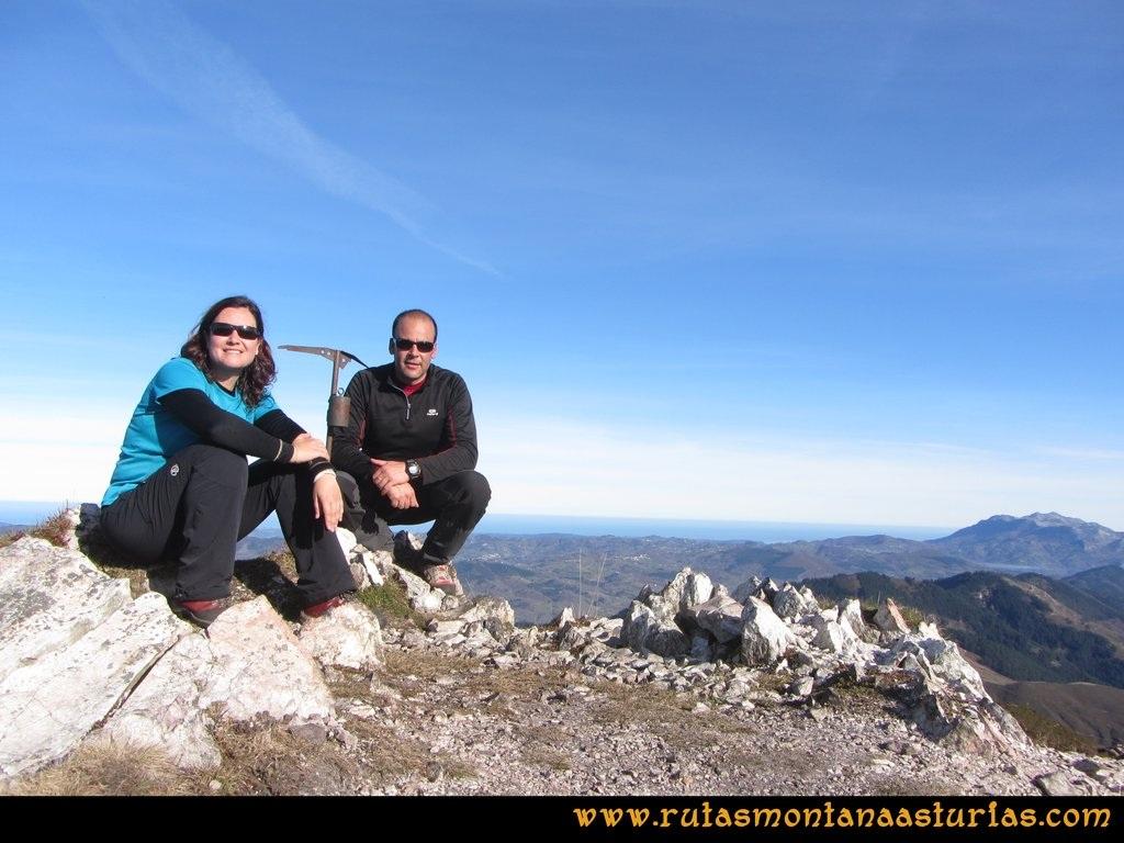 Pico Mua PR AS 46 Cima del pico Múa