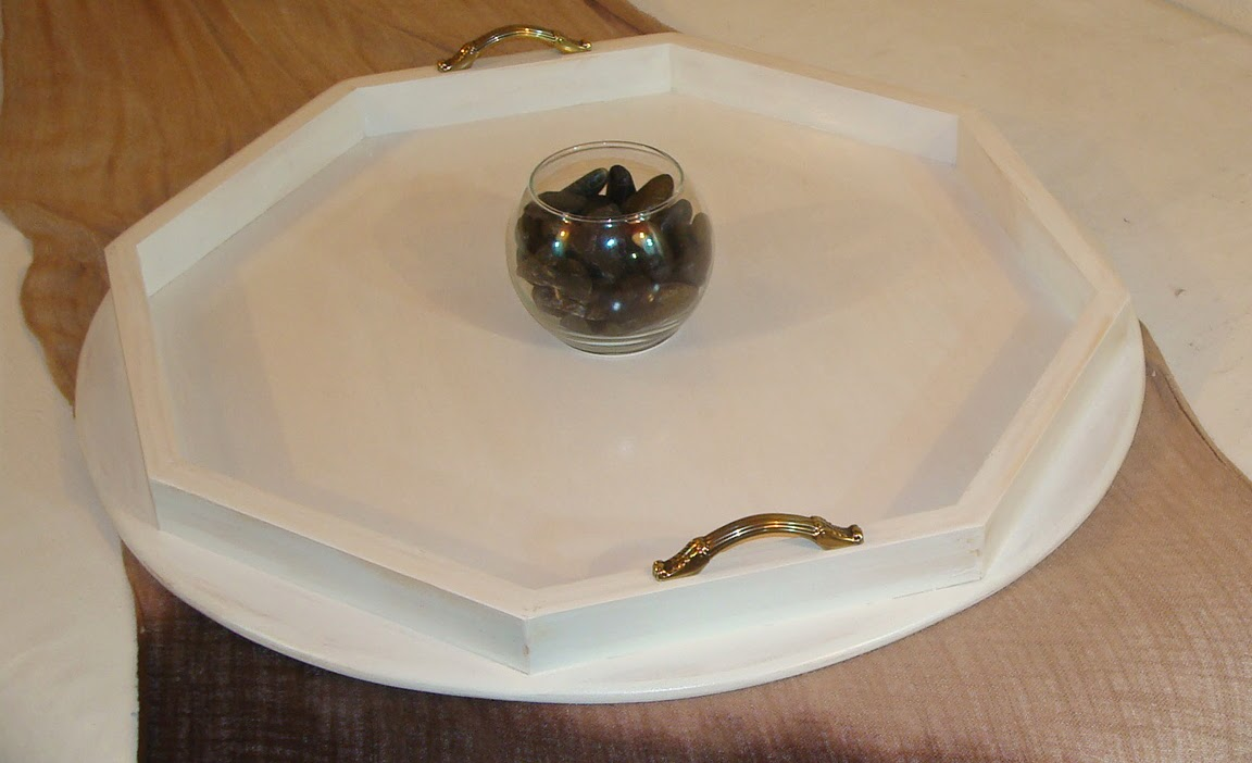 Beautiful Trays For Ottomans 23x23 Round White Ottoman Tray