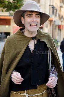 Actor interpretando al Lazarillo de Tormes